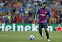 Barcelona Murka Dengar Umtiti Tertarik Gabung ke Madrid