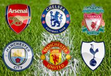 Studi Memperlihatkan Jika The Big Six Hancurkan Premier League