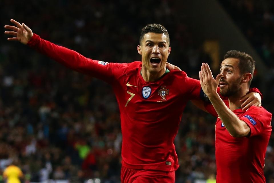 Puja-Puji Ronaldo Usai Mencetak Cetak Hattrick untuk Portugal