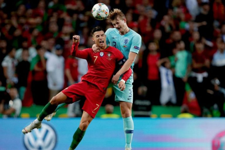 Ada Kemiripan Antara De Ligt dan Ronaldo di Mata Van Der Sar, Apa Itu?