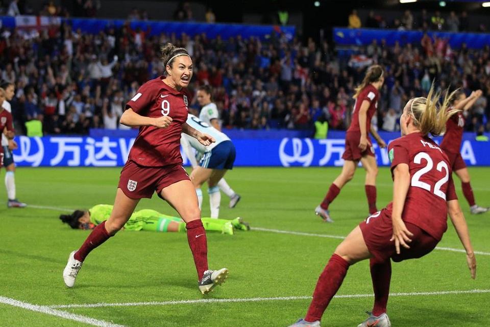Gol Tunggal dari Jodie Buat Timnas Inggris Wanita Lolos 16 Besar