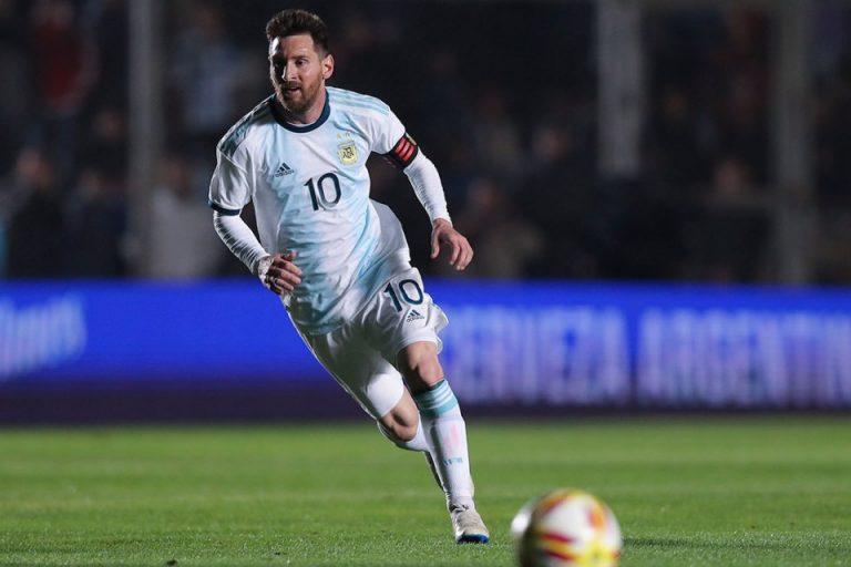 Messi Optimis Jalani Partai Hidup Mati