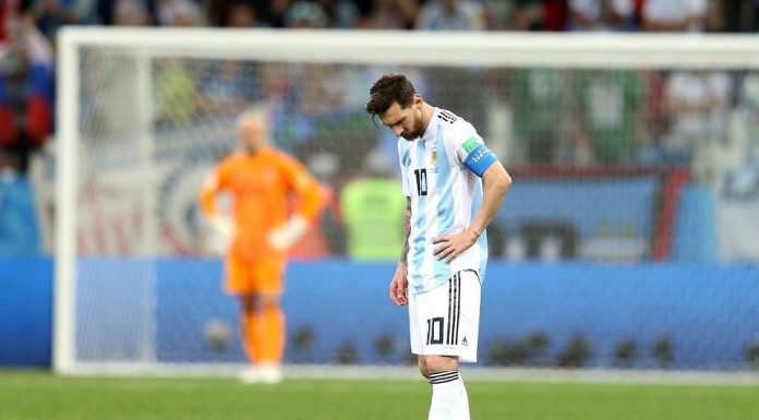 Messi Panik Usai Dipecundangi Kolombia