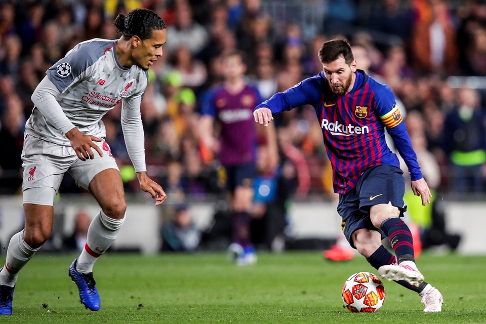 Van Dijk And Messi