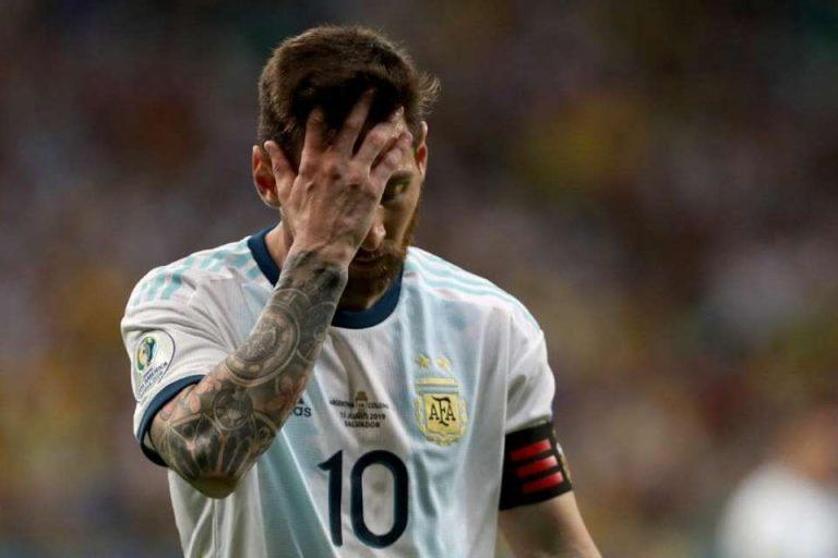 Kalah dari Kolombia, Messi Minta Argentina 'Move On'