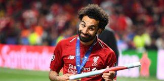 Mo Salah Disebut Sudah Selevel dengan Ronaldo dan Messi