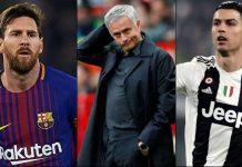Jose Mourinho Dambakan Ronaldo dan Messi Jumpa di Final UCL, Kenapa?