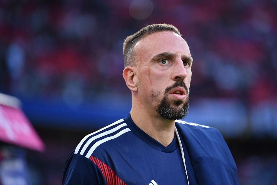Ribery: Saya ke Italia Bukan Karena Cristiano Ronaldo