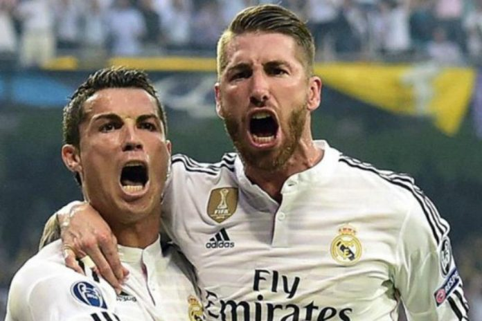 Sergio Ramos Tak undang Cristiano Ronaldo di Pesta Pernikahannya, Kenapa?