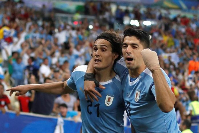Duo Uruguay Pimpin Topskor Copa America 2019