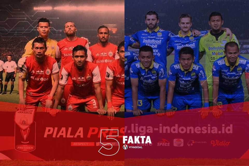 5 Fakta Big Match Persija Vs Persib di SUGBK