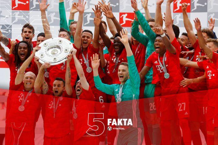 5 Fakta yang Terjadi di Bundesliga Musim 2018/19