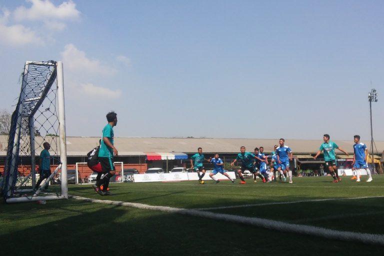 Brace Candra Selamatkan Alpi Jaya Raya FC dari Kekalahan