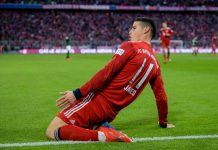 Atletico Siap Tebus Klausul Rilis James Rodriguez di Real Madrid