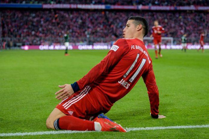 Atletico Siap Tebus Klausul Rilis James Rodriguez di Real Madrid