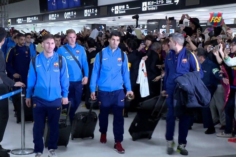 Tiba di Jepang, Barcelona Siap Lakukan Tur Pra Musim Asia!