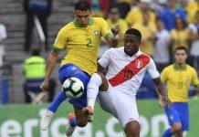 Starting Line Up Final Copa America 2019 Brazil v Peru