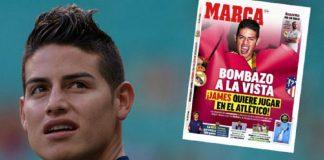 James Rodriguez bisa menjadi langkah perburuan selanjutnya untuk Atletico Madrid karena pihak klub secara terang-terangan akan membawanya