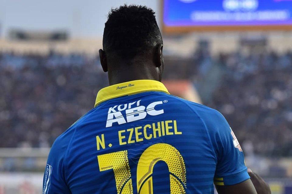 Jumlah Kartu Ezechiel Lebih Banyak dari Golnya, Kok Bisa?