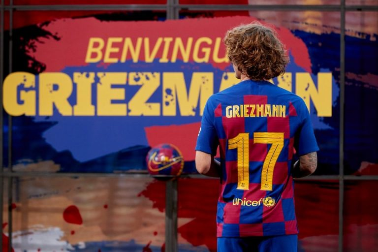 Sang Ayah Sangat Bangga Liat Griezmann Bisa Berkostum Barcelona