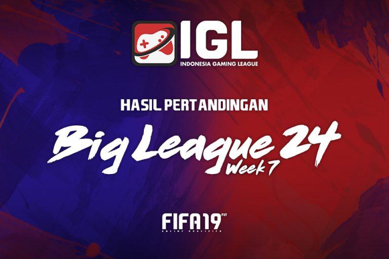 Kejutan Besar Hadir di Minggu Ketujuh Big League FIFA 19 FUT
