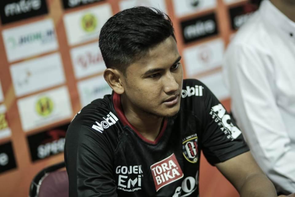 Haudi Abdillah Siap Bersaing Jadi Starter di Bali United