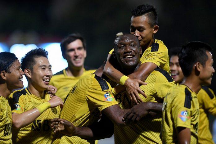 Herman Dzumafo Senang Akhirnya Bisa Cetak Gol di Liga 1 2019