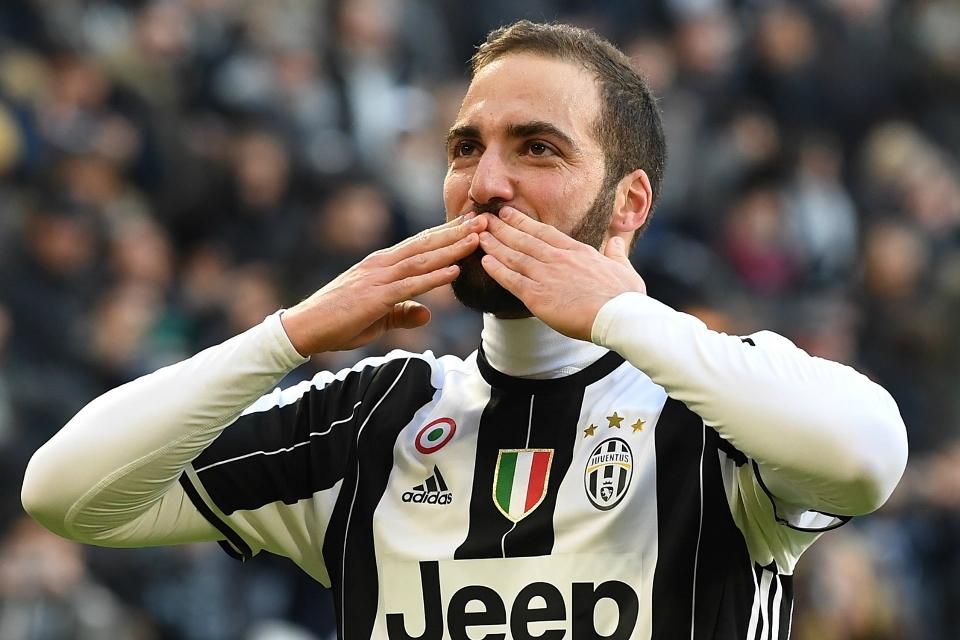 Higuain Pilih Nomor 21, Nomor 9 Juventus untuk Striker Anyar?