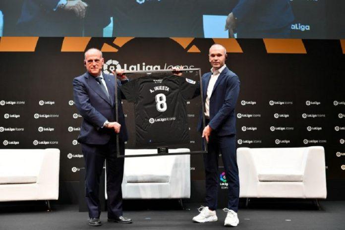 Iniesta Dinobatkan Menjadi Ikon La Liga
