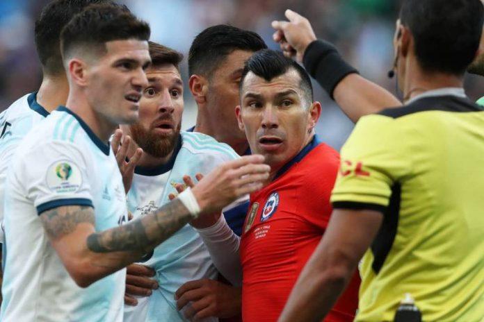 Kapten Timnas Chile Dukung Messi Soal Kontroversi Copa America 2019