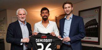 Gabung Leverkusen, Kerem Demirbay Tidak Sabar Main Di Liga Champions