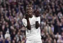 Keran Gol Mampet, Zidane Tempa Vinicius Dalam Penyelesain Akhir