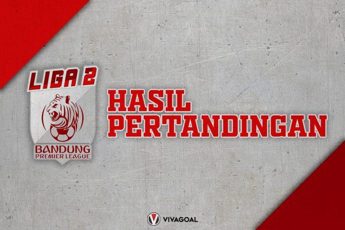 Hasil Pertanding Liga 2 Bandung Premier League
