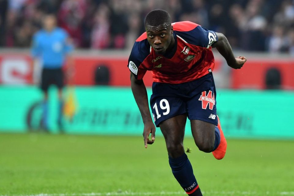 Lille Bilang Belum Ada Tawaran Konkret Untuk Nicolas Pepe