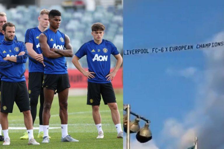 Fans Liverpool Buat Pemain MU Sakit Hati Saat Latihan Pramusim!