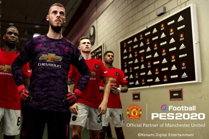 Resmi! Konami Dapatkan Lisensi Manchester United untuk PES 2020
