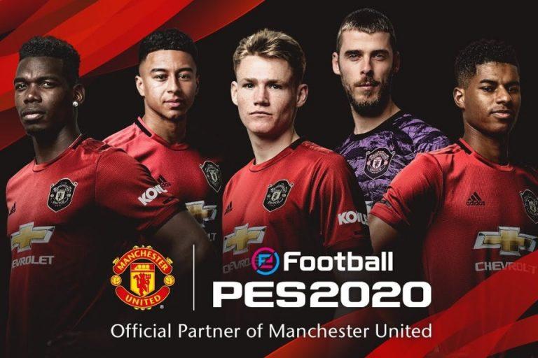 De Gea Miliki Rating Tertinggi dalam Skuat Manchester United di PES 2020