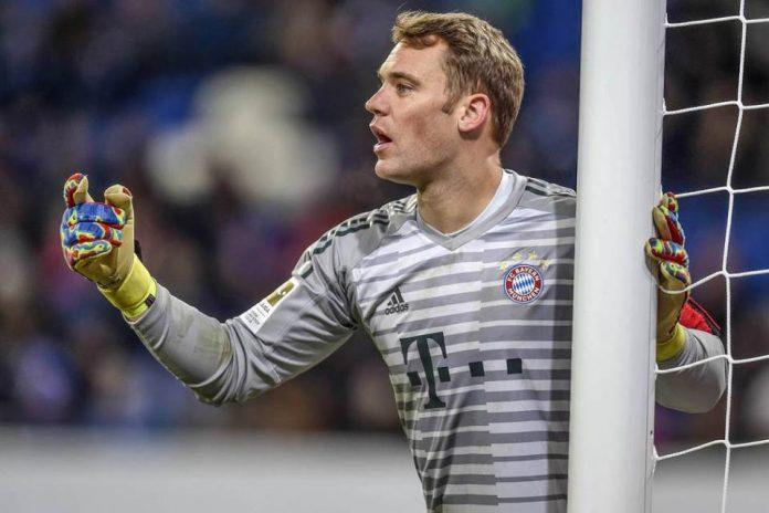 Neuer di Bayern Munchen