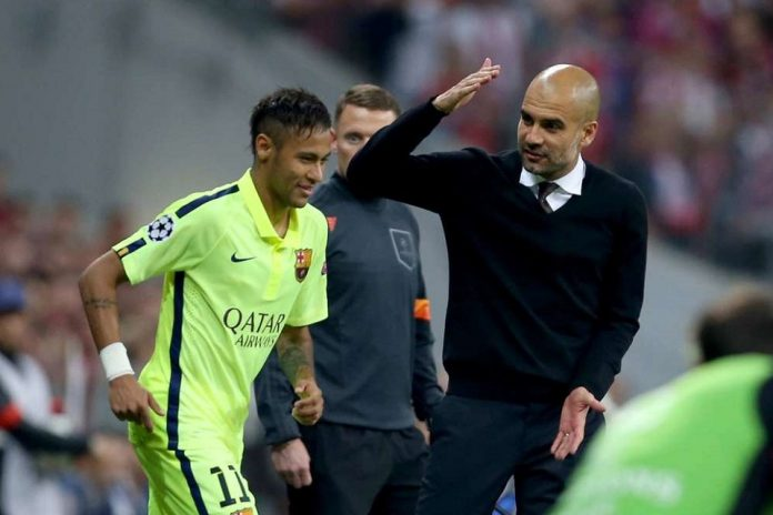 Pep Buka Suara Terkait Neymar Kembali ke Barcelona
