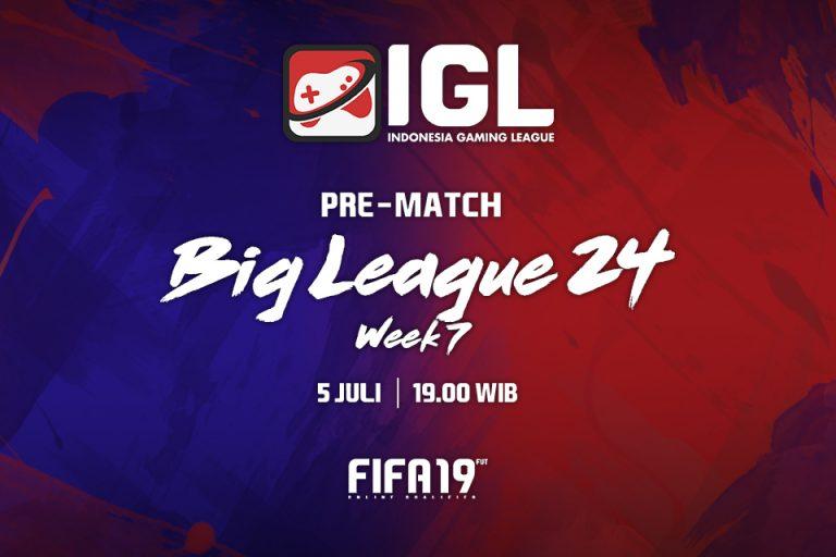 Persiapan Mengamankan Posisi di Minggu Ketujuh Big League FIFA 19 FUT