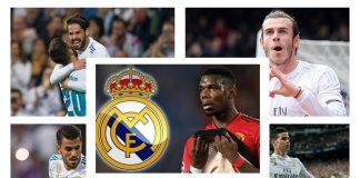 Real Madrid Siap Jual 5 Pemain Ini Demi Dapatkan Pogba, Siapa Saja?