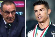 Begini Isi Pertemuan Antara Ronaldo dan Sarri