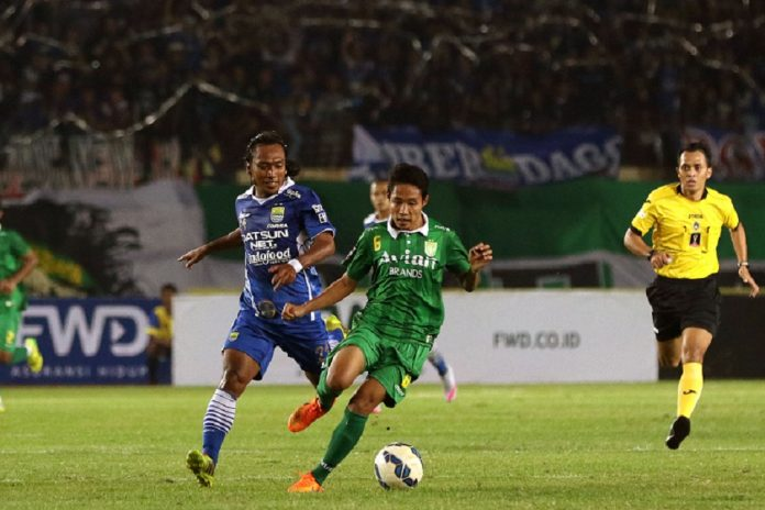 Starting Line Up Big Match Antara Persebaya Vs Persib