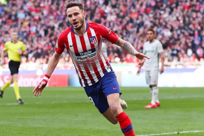 Tak Ingin Kehilangan Saul Niguez, Atletico Tawarkan Gaji Rp 3,28 Miliar Per Pekan