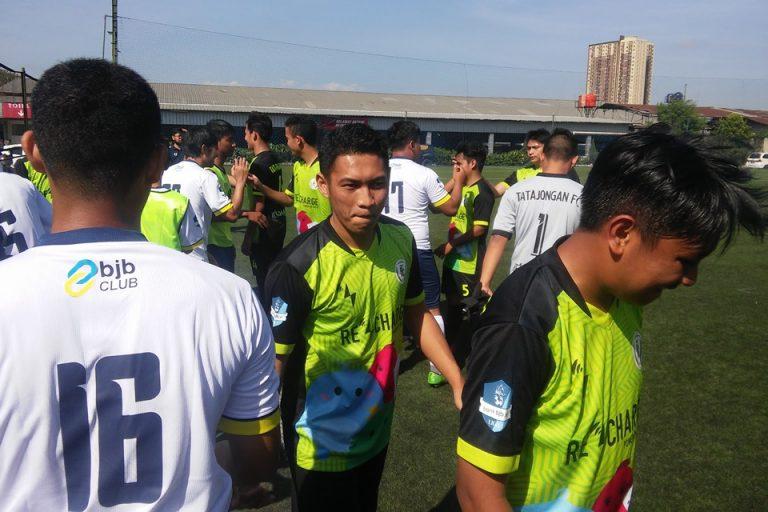 BJB FC Raih Tiga Poin Pertama di Liga 1 Bandung Premier League