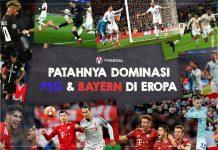 Patahnya Dominasi PSG dan Bayern Munchen