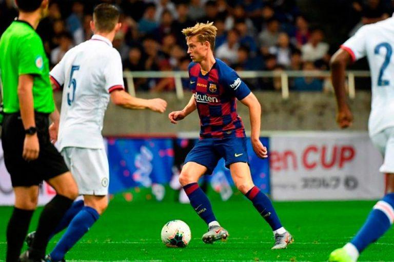 De Jong Merupakan Poros Permainan Barcelona Saat Ini, Ini Statistiknya!