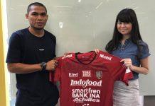 Bali United Datangkan Striker dari Liga 2