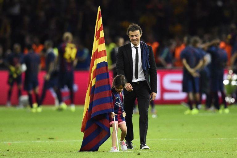 Anak Luis Enrique Meninggal, Ucapan Duka Mengalir Dari Messi Sampai Madrid