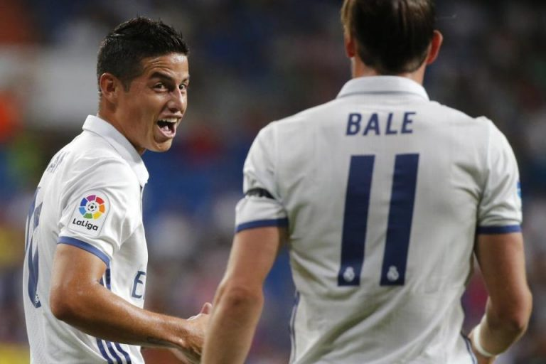 Zidane Sudah Berdamai dengan James dan Bale?